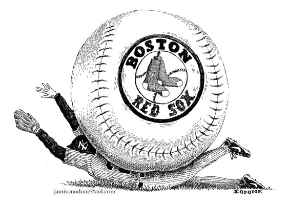 Boston Dirt Dogs / Jamison Odone Illustration