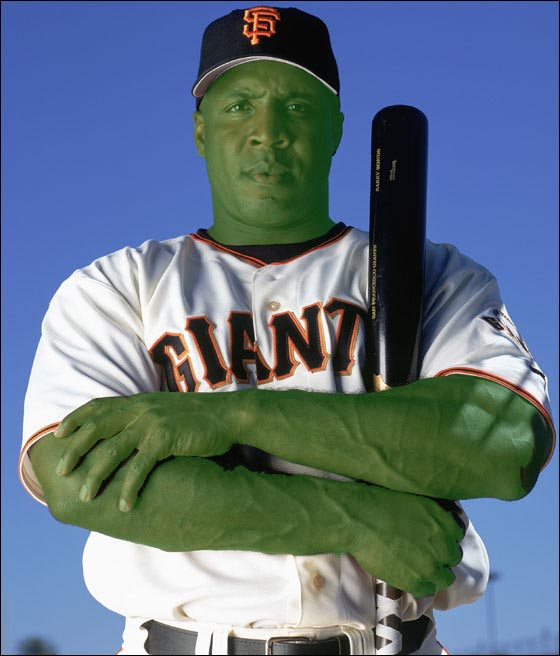Bonds as the Hulk