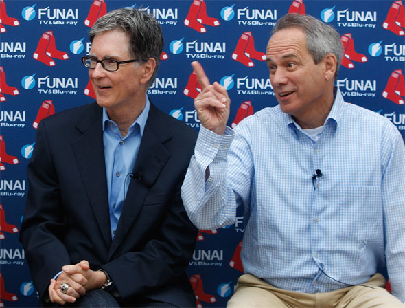 Red Sox owner John Henry and CEO Larry Lucchino may have messed up big with Teixeira