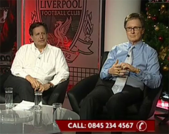 Liverpool's principal owner John Henry and Chairman Tom Werner talk Liverpool all night