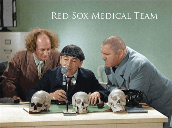 Red Sox medical team