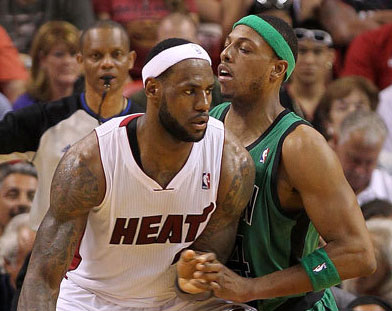 LeBron leads Heat over Celtics
