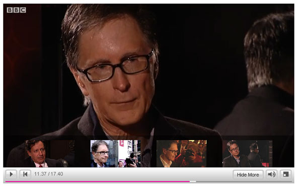 John Henry waxes on and on over football