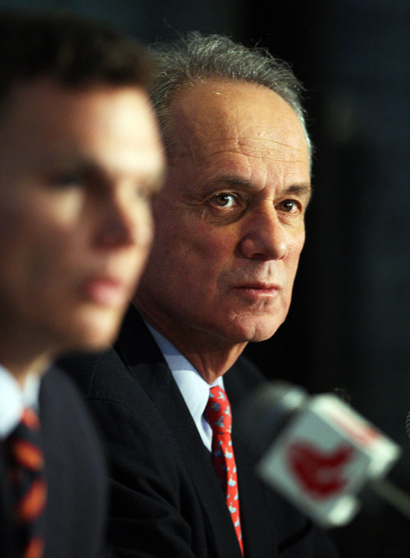 Larry Lucchino and Ben Cherington