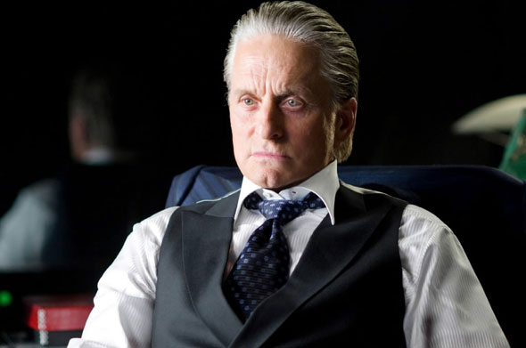 Michael Douglas as Gordon Gekko in WALL STREET 2: MONEY NEVER SLEEPS