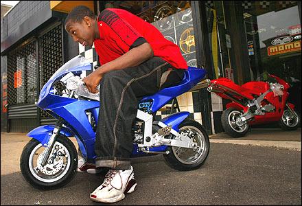 Mini Motorbikes Make Many Roar The Boston Globe