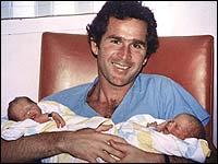 Boston Globe Coverage of the Bush Daughters