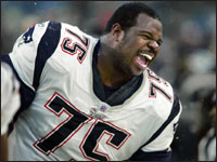 New England Patriots defensive tackle Vince Wilfork