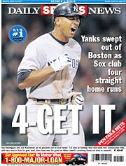 New York Daily News back cover