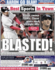 New York Post back cover