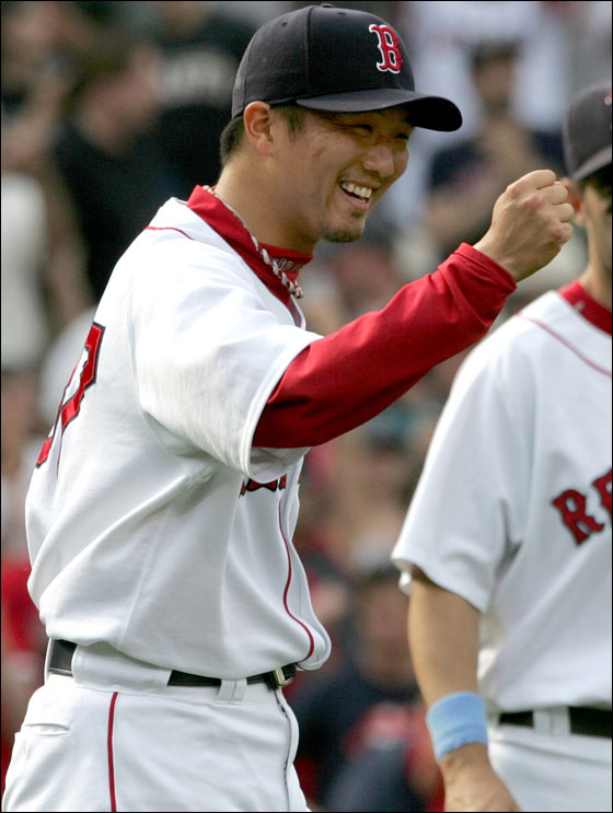 Red Sox reliever Hideki Okajima is on the Final Vote ballot to make the AL All-Star team.