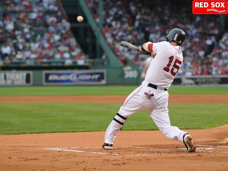 boston red sox wallpaper. Red Sox second baseman Dustin