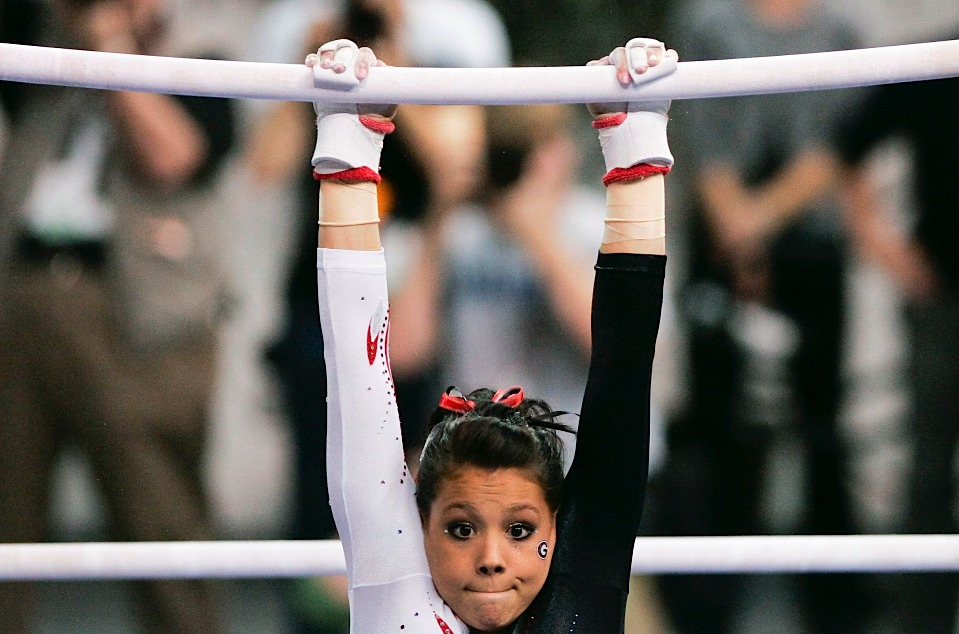 Uneven Parallel Bars Gymnastics Uneven Parallel Bars Gymnast