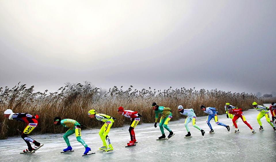 (ROBIN UTRECHT/AFP/Getty Images).  Лучшие спортивные фото.