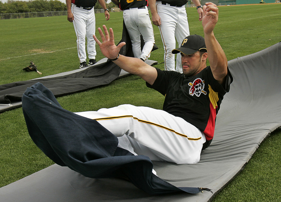 Garrett Jones, Pirates first baseman