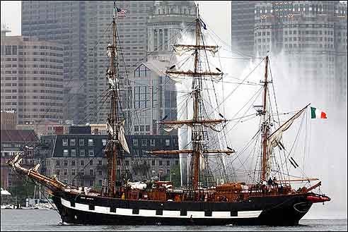 The Jeanie Johnston famine ship
