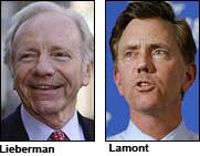 Lieberman vs. Lamont