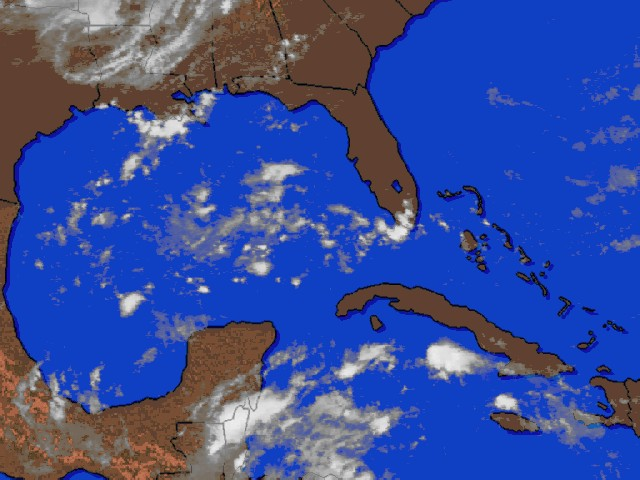 Caribbean cloud cover