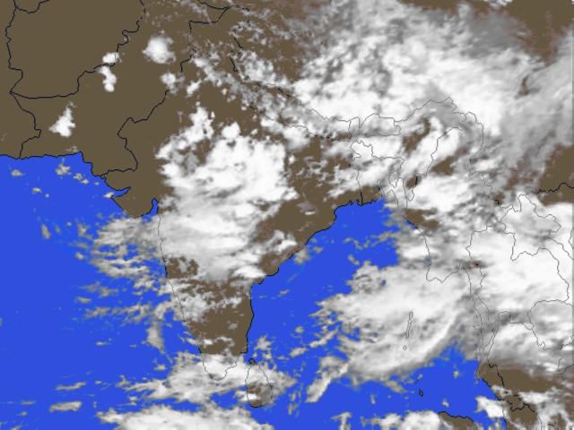 S. Asia clouds