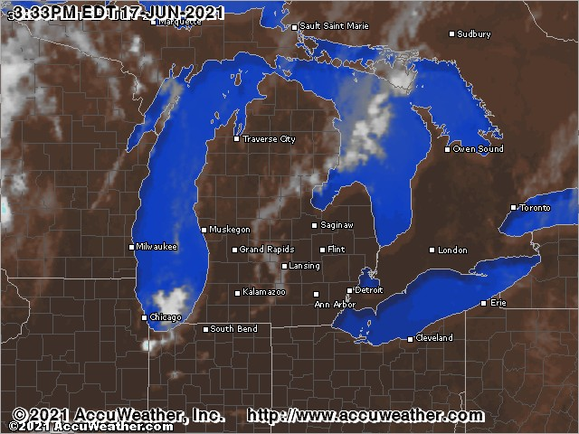 Michigan cloud cover