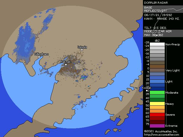 King Salmon, Alaska, doppler radar