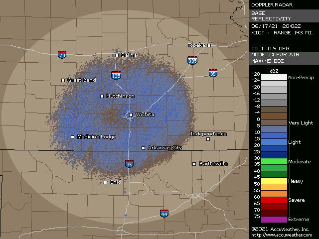 Wichita, Kan., doppler radar
