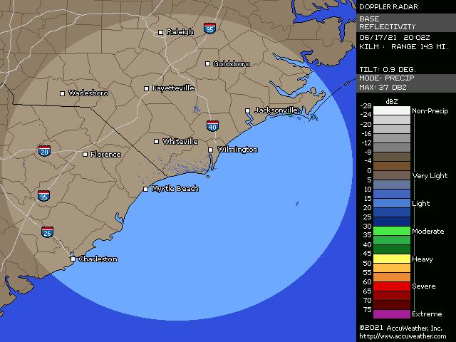 Wilmington, N.C., doppler radar