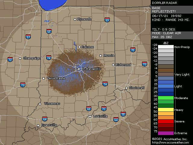 Indianapolis Indiana Weather Radar