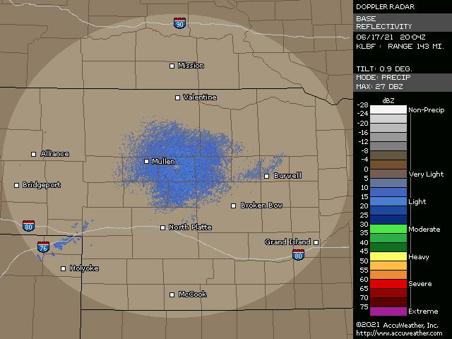 North Platte, Neb., doppler radar