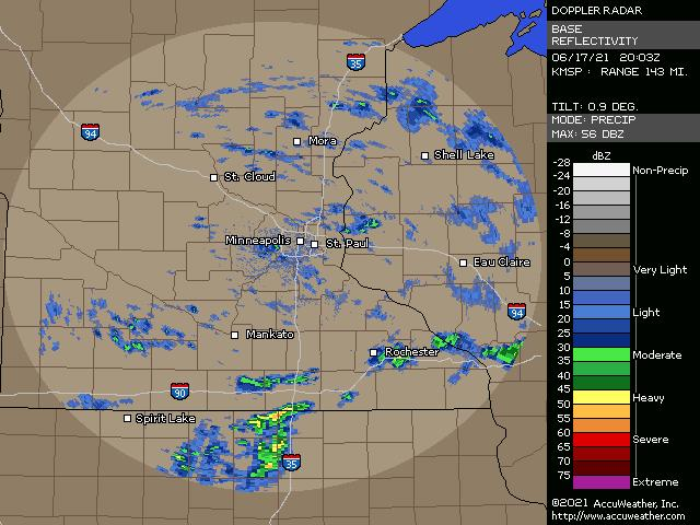 Minneapolis / St Paul, Minn., doppler radar