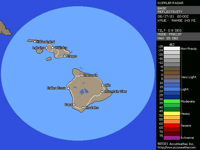Kohala, Hawaii, doppler radar