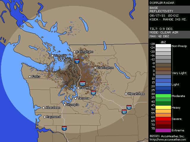 Seattle, Wash., doppler radar