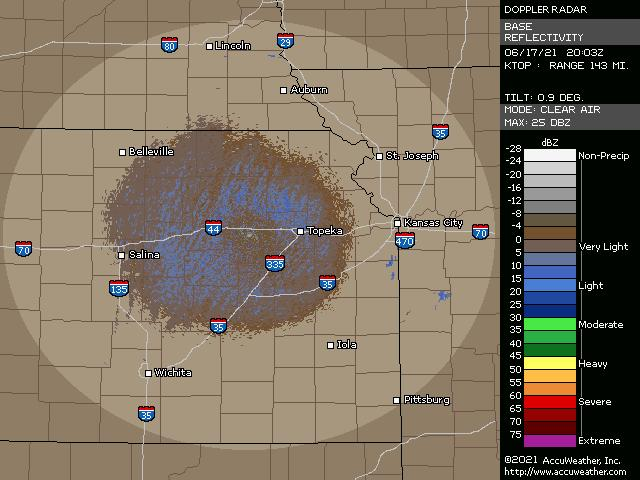 Topeka, Kan., doppler radar