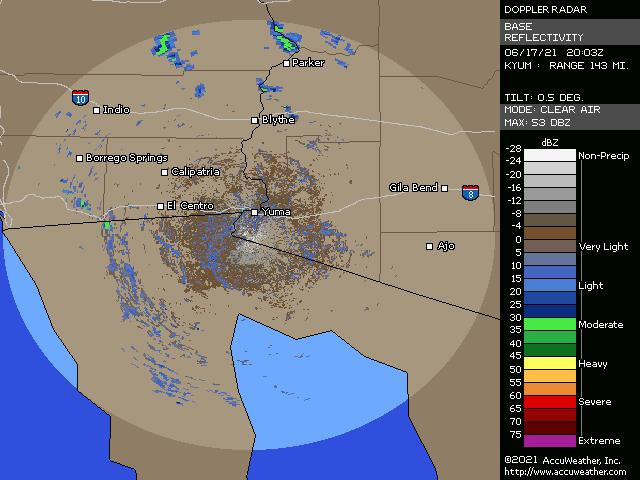 Yuma, Ariz., doppler radar