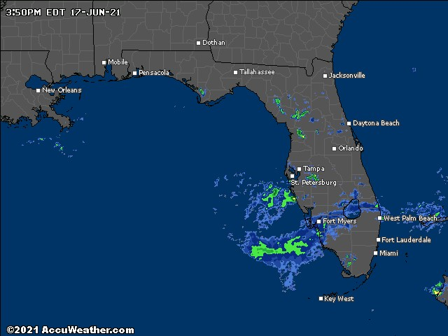 Florida precipitation