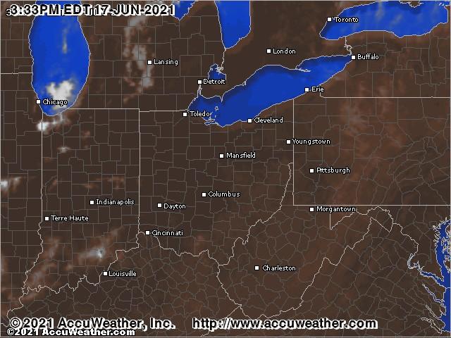 Ohio clouds
