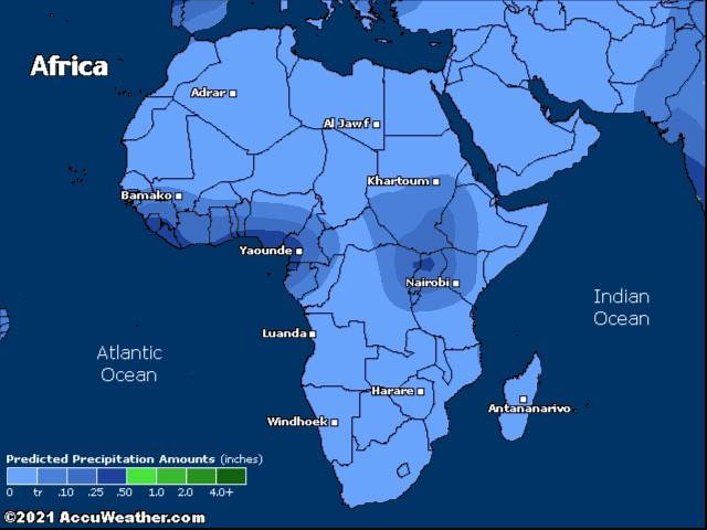 Africa precip.
