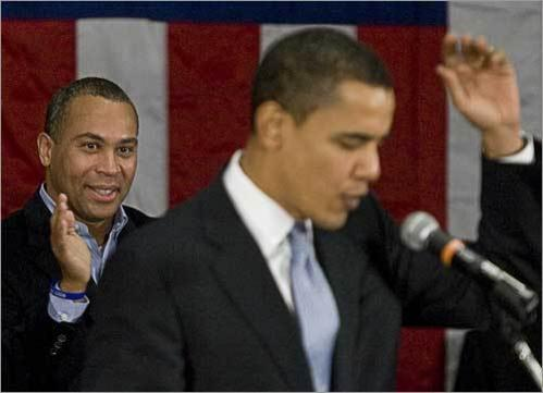 Barack Obama (right) has written two autobiographies, 'Dreams from My Father' and 'The Audacity of Hope,' both of which became best-sellers. On Friday, Massachusetts Governor Deval Patrick announced a $1.35 million deal to write his autobiography. Here are similarities in the lives of the two friends and Democratic politicians.