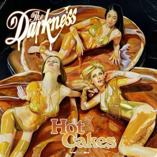 This CD cover image released by Wind up Records shows the latest release by The Darkness, 'Hot Cakes.'