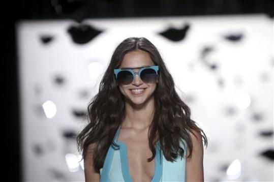 The Diane Von Furstenberg Spring 2013 collection is modeled during Fashion Week in New York, Sunday, Sept. 9, 2012.