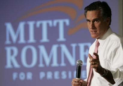 Mitt Romney, addressing supporters in West Palm Beach, Fla., had hoped the Massachusetts GOP would retain the policy.