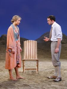Sara Murphy (Jennifer Mudge), F. Scott Fitzgerald (Nate Corddry) and other glamorous characters inhabit 'Villa America,' a play by Crispin Whittell.