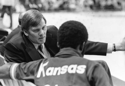Larry Staverman coached the Kansas City Kings during the 1977-78 season, posting an 18-27 record.