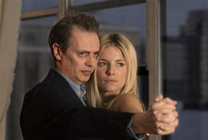 Steve Buscemi and Sienna Miller costar as a journalist and actress in 'Interview,' a remake of the 2003 drama of the same name by murdered Dutch filmmaker Theo van Gogh.