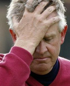 Colin Montgomerie missed the cut after a 74 in Round 2.