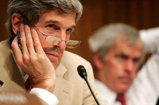 The instincts of Senator John Kerry, shown last month, as he considered an '08 run seem prescient in this campaign season.