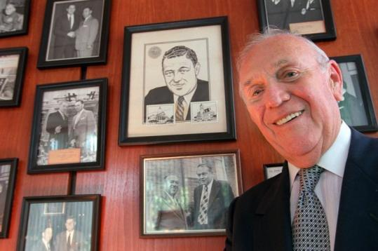 Edward J. Sullivan served as clerk of courts in Middlesex County for almost a half-century.