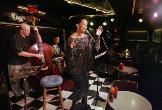 Deborah Nero led a jam session at Baker's Keyboard Lounge last week.