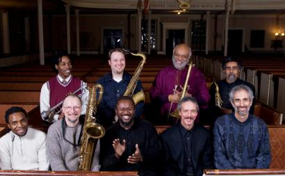 The Makanda Project, led by Boston pianist and arranger John Kordalewski (front right), is paying tribute to Makanda Ken McIntyre, a composer and multi-reed player who died six years ago in relative obscurity.