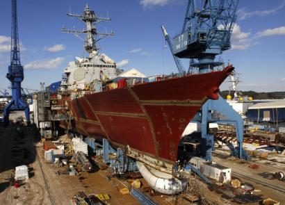 When the Navy's DDG-51 destroyer program ends, Bath Iron Works in Maine will have built 34 of the warships.